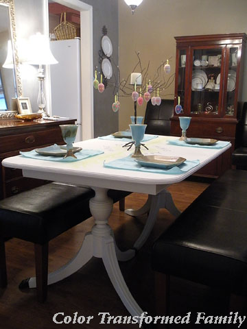 spring 2012 dining table
