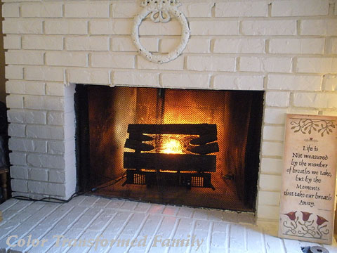 fireplace | Color Transformed Family