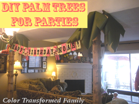 DIY PALM TREE
