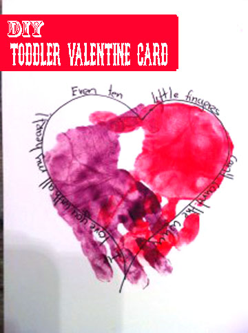 childrens valentines card