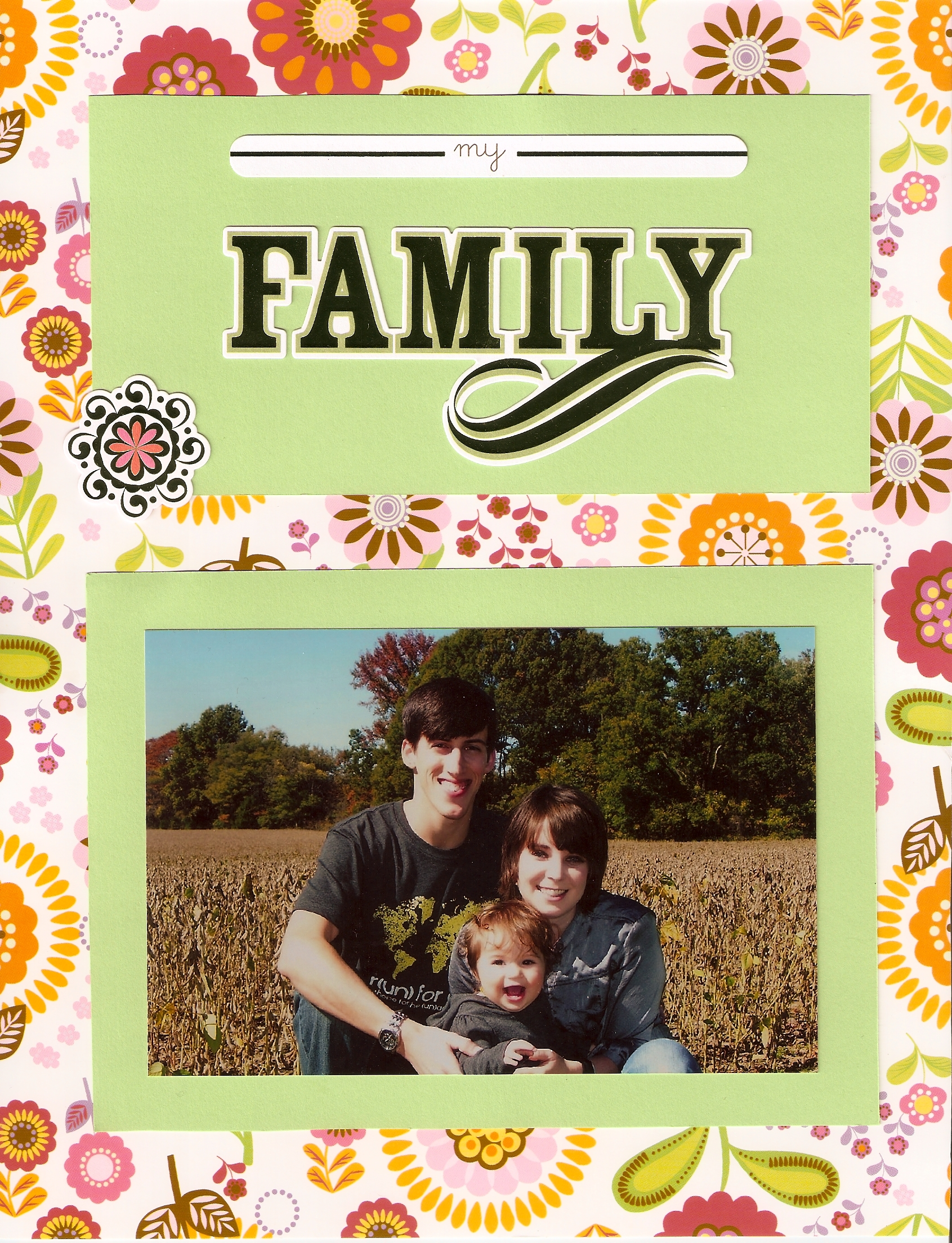 adoption scrapbook