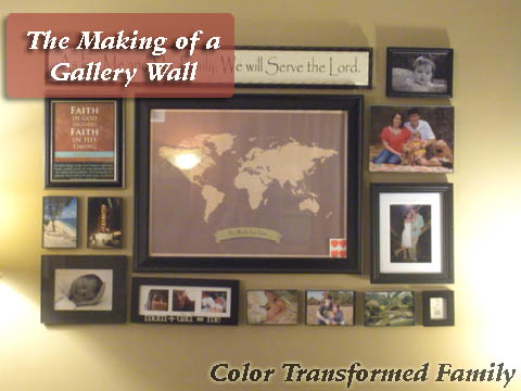 gallery wall cover