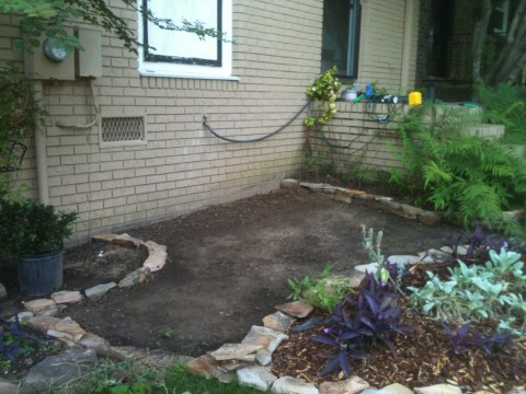 front-yard-stone-patio