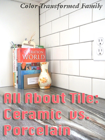 All About Tile: Ceramic vs. Porcelain