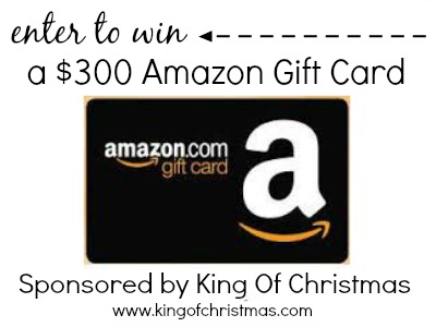 $300 Amazon Gift Card by King Of Christmas