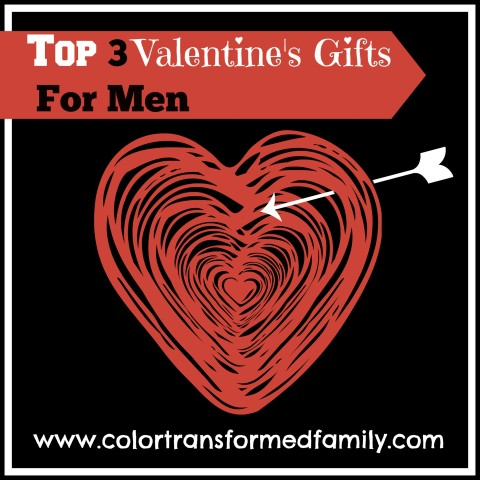 Top 3 Valentine's Gifts for Men