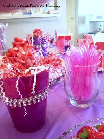 Pink and Purple Fancy Nancy Birthday Party