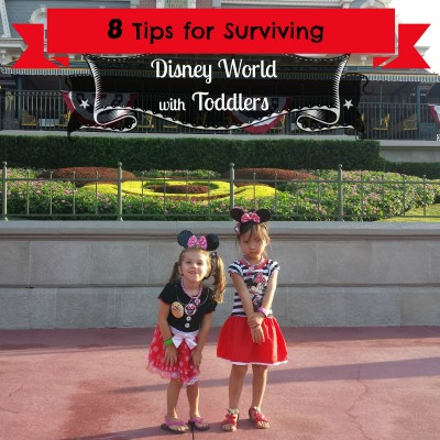 8 Tips for Surviving Disney World with Toddlers
