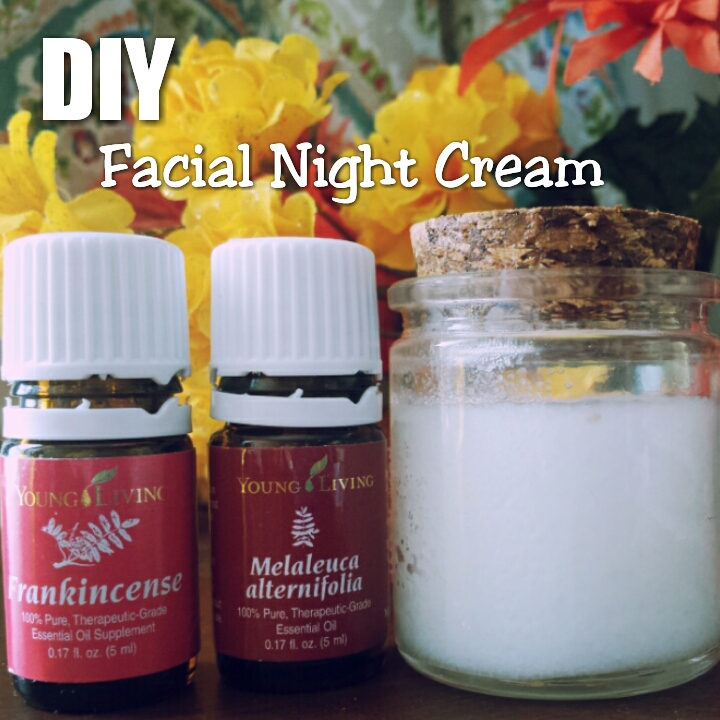 DIY Facial Night Cream
