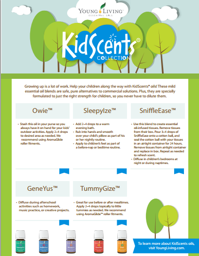 Kidscents collection info