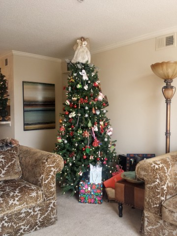 Where To Put The Christmas Tree christmas | color transformed family